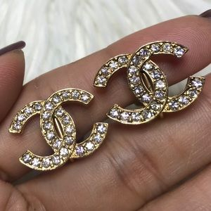 💯% Authentic Chanel Clip on Earrings